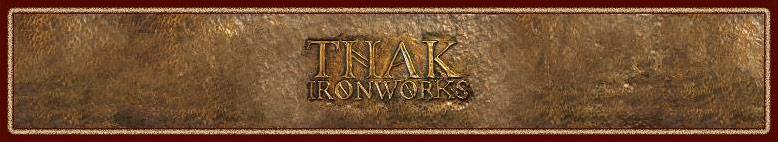 Thak Ironworks logo