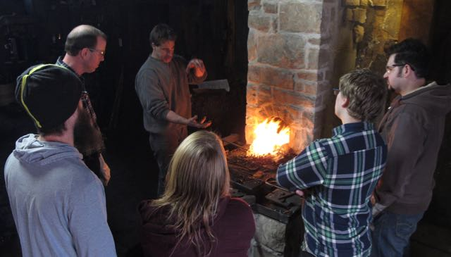 Classes Blacksmithing