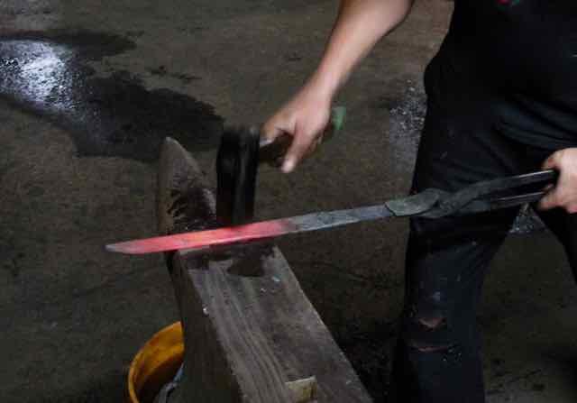 Knife making