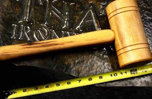Hardwood mallet
